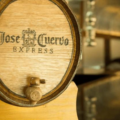 Tren Jose Cuervo Express, barra libre, diamante, tequila.
