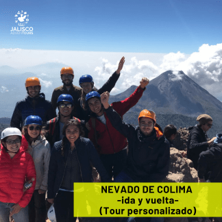 nevado de colima excursion como llegar