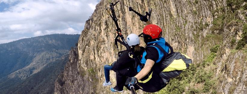 Temascaltepec, vuelo en parapente, turismo de aventura