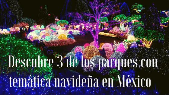 parque de diversiones, navidad, mexico,.
