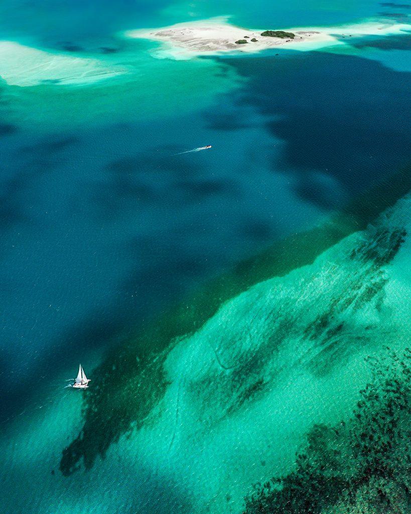 Laguna de los 7 colores, Quintana Roo