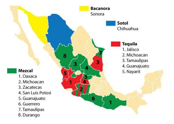 Denominación del Tequila