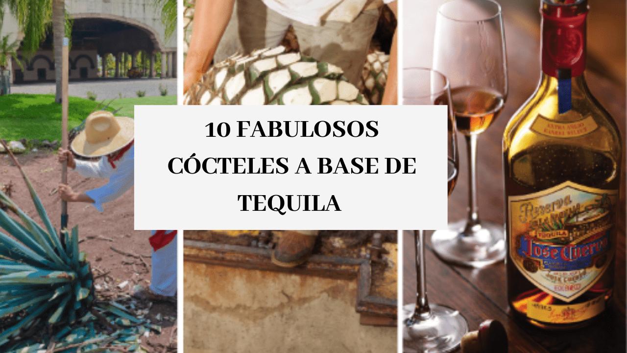 Cócteles a base de tequila.