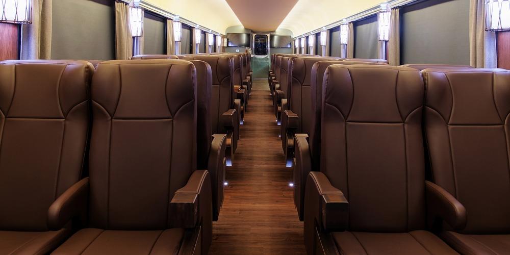 Vagón primera clase el Chepe Express