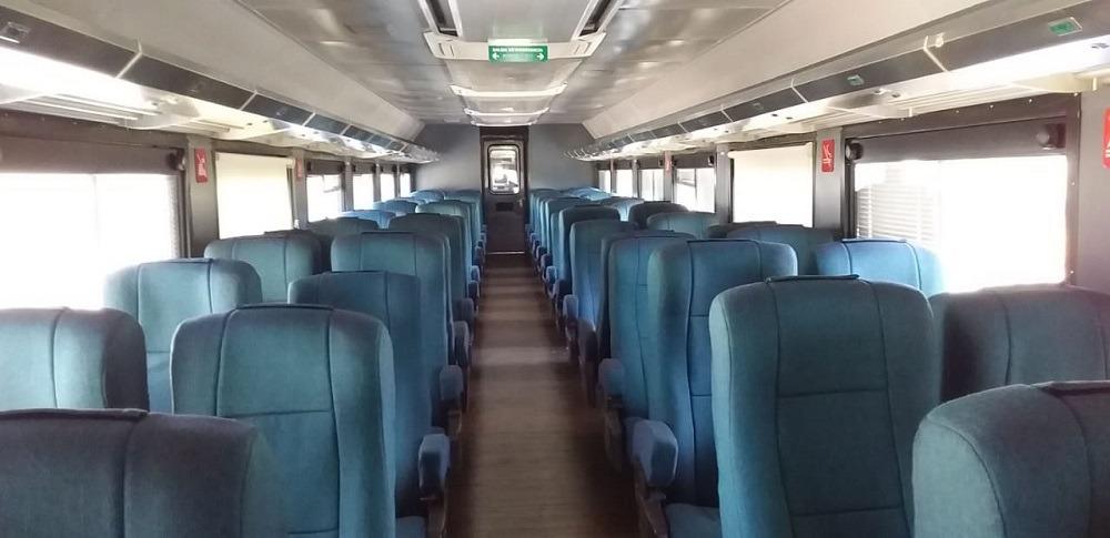 Vagón clase turista el Chepe Express