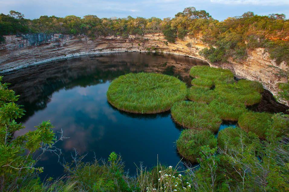 Cenote más profundo del mundo