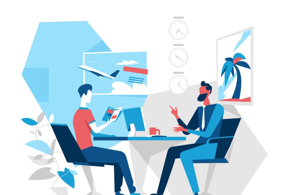 Consejos para planificar  agente de viajes asesor