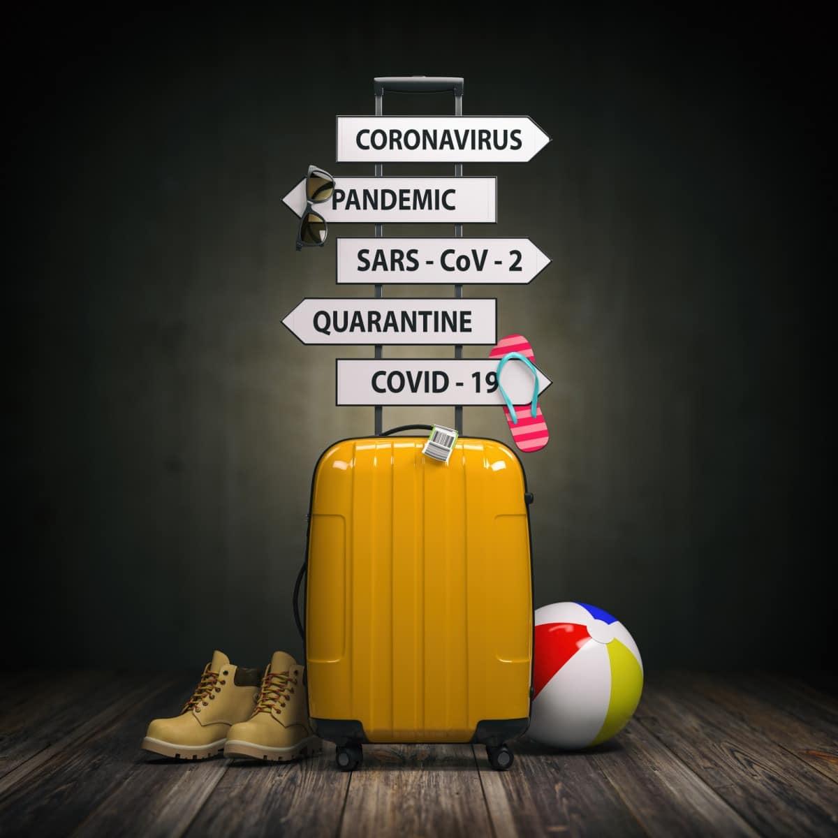 Viajar pandemia turismo covid